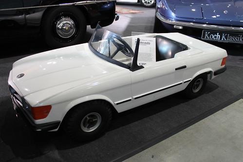 mercedes sl cabrio kinderauto mit benzinmotor 1985 mod. Black Bedroom Furniture Sets. Home Design Ideas