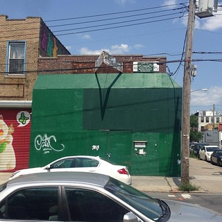 Che-Man BUFFED by intolerance! This corporate entity that seemingly supports Racism, Imperialism, Fascism and Terrorism. This building on the corner of Troutman and Wyckoff and its owners also do not support @thebushwickcollective! It's to bad that t | by VIVACHE
