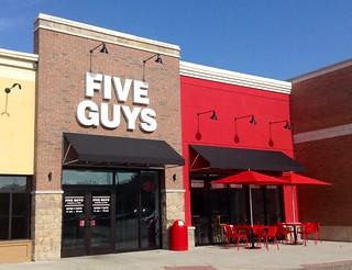 Restaurant Five Guys Menu