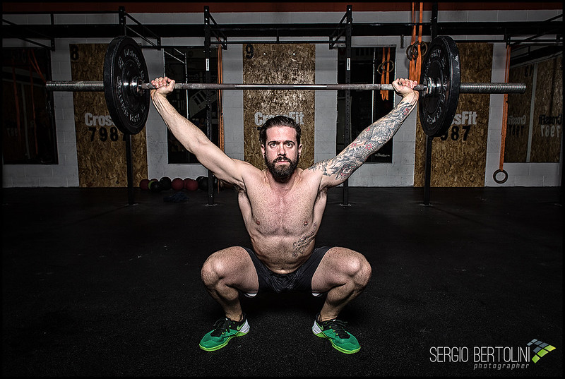 CrossFit 7987: Studio Lighting