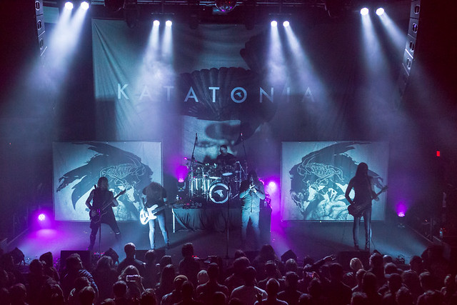 Katatonia @ 930Club, Washington DC, 3/16/2017