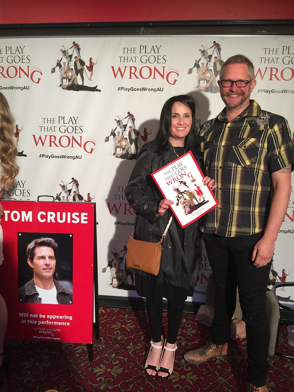 The Play That Goes Wrong opening night | Melbourne Reviewer Jody Scott-Greers on the red carpet