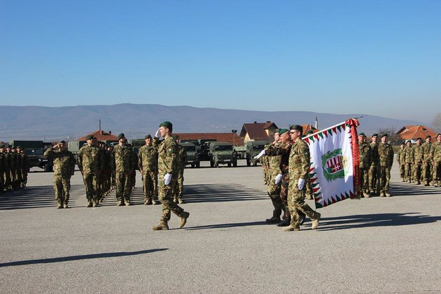 Hungarian Contingent's Change of Command 04.03.17