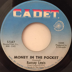 RAMSEY LEWIS:UP TIGHT(LABEL SIDE-B)