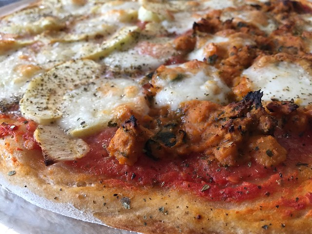 Granny Smith / Curry Pizza