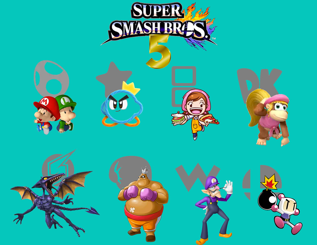 super smash bros 5 newcomer wishlist now i know this is pr flickr