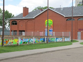 Rink and Hall Murals | by strathconacentre.communityleague