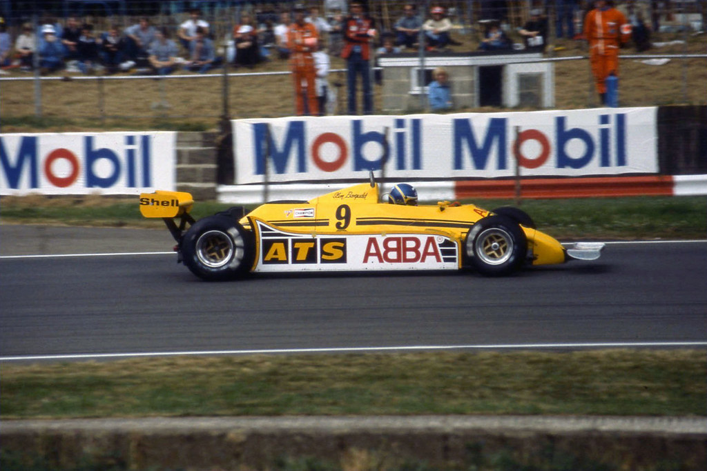 1981 ATS HGS1 Ford Cosworth DF...