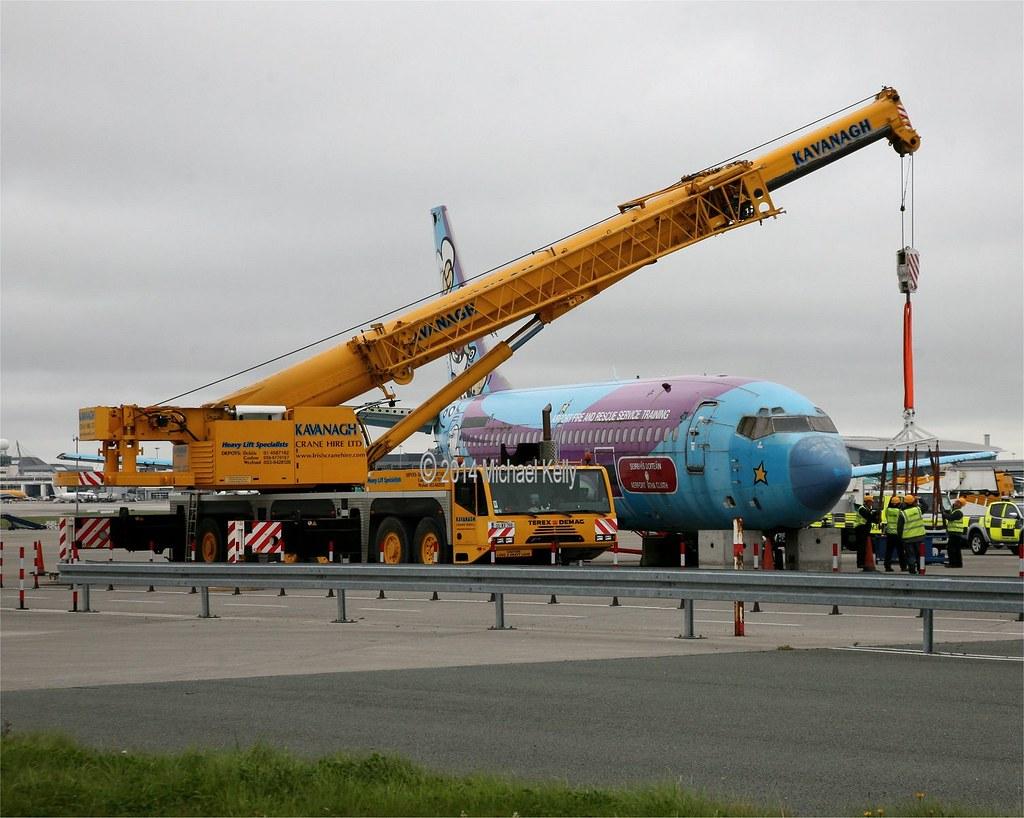 Dublin Airport Authority Boeing 737 Ex Ryanair Ei Cjd Flickr