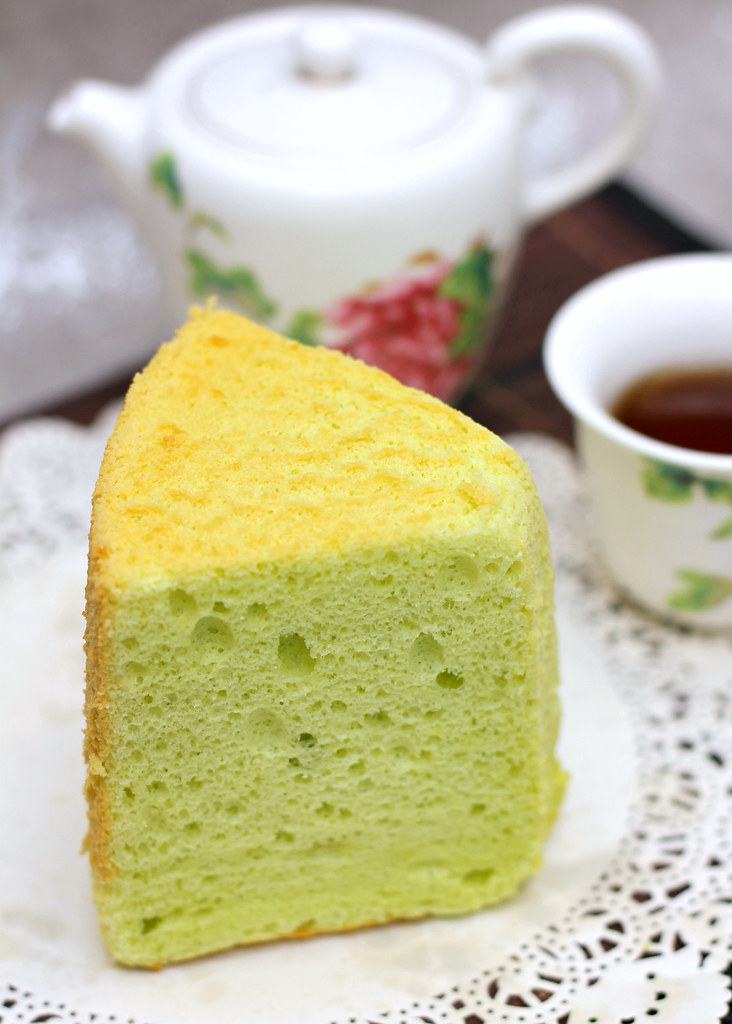 The Ultimate Pandan Chiffon Cake: Drips Bakery