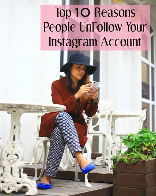 Pinterest UnFollow On Instagram Tanvii.com