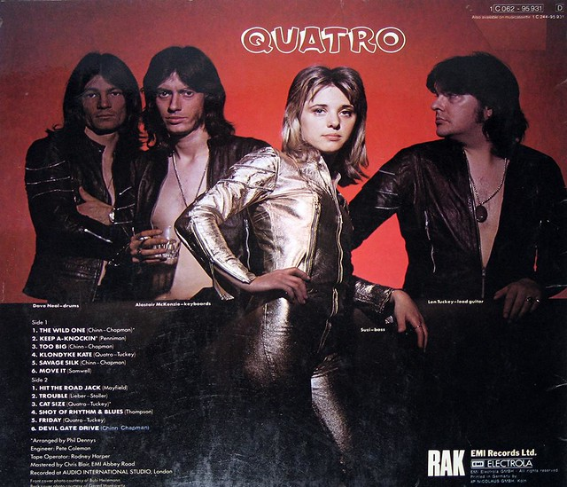 SUZI QUATRO - QUATRO Wild One Too Big Devil Gate Drive