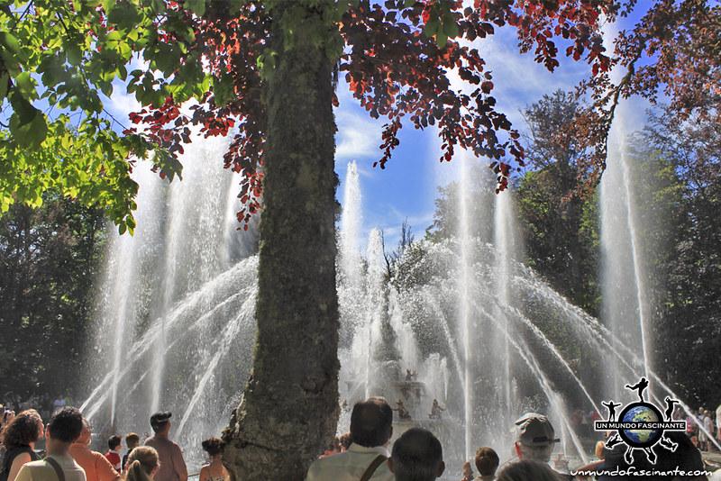 Las Ranas. Reales Jardines del Palacio Real de la Granja de San Ildefonso. Segovia, Castilla y León. España.