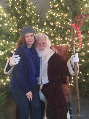 Finding Old St Nick at Osthoff's German Christmas Market. From How To Spend a Weekend At The Osthoff Resort, Elkhart Lake, Wisconsin