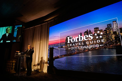 Forbes Travel Guide CEO Gerard Inzerillo during the awards night in  New ...