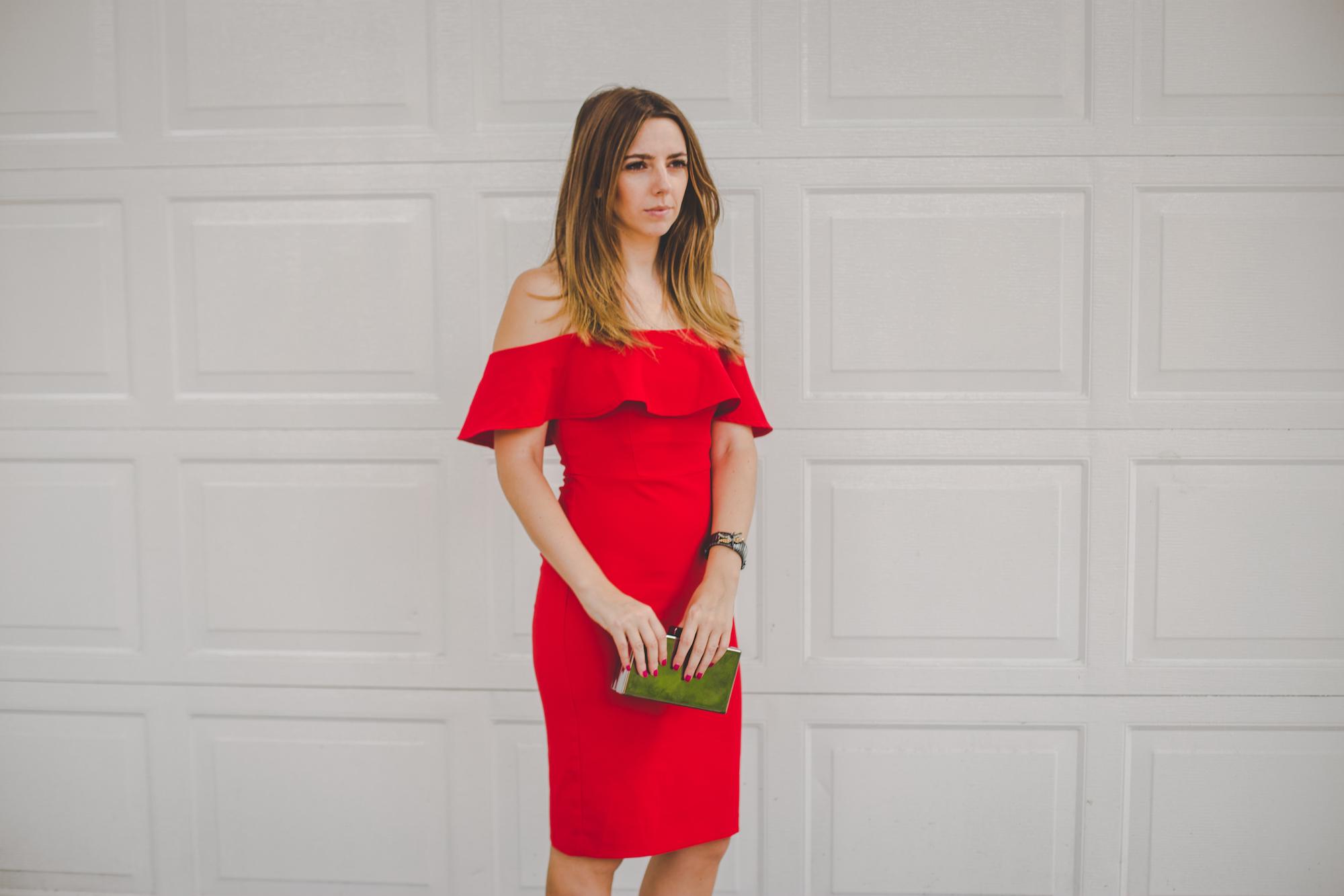vestido rojo boda