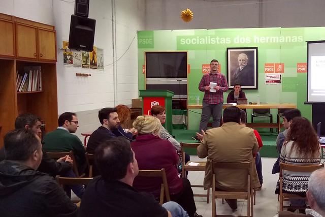 PSOE y Juventudes Socialistas foro de debate y propuestas para el congreso nacional