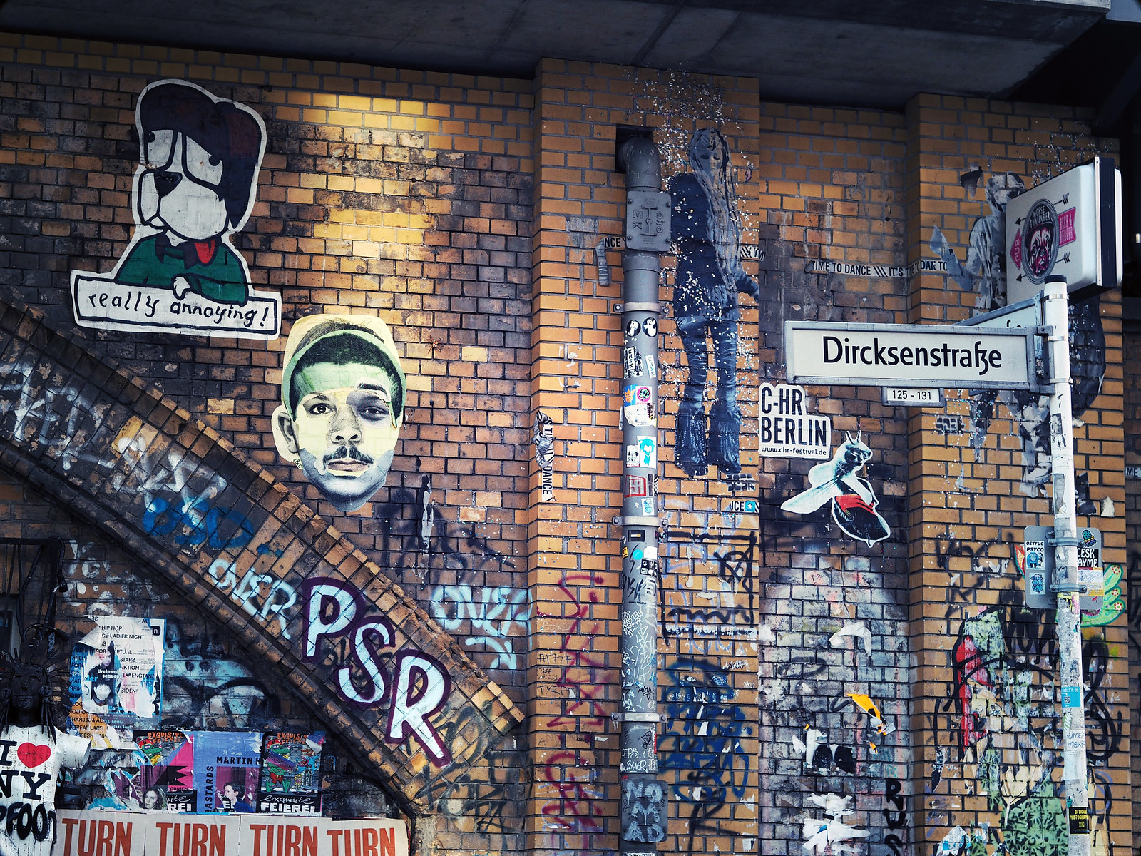 Graffiti Street Art Berlin Hipster Kreuzberg Alexanderplatz_effected