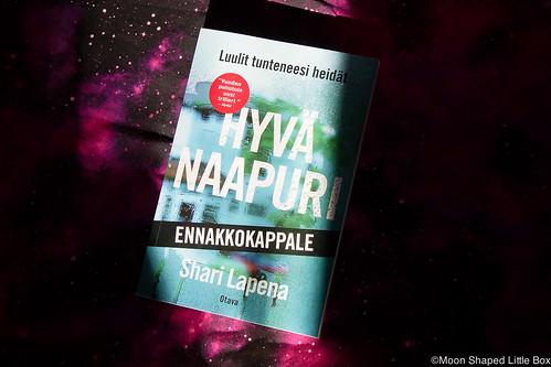 Shari Lapena Hyvä Naapuri kirja kirja- arvostelu blogi lifestyle Suomalainen Kirjakauppa yhteistyö