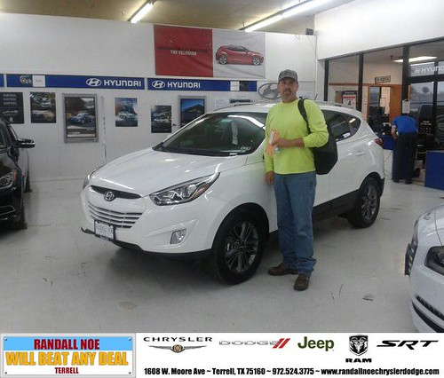 Randall Noe Dodge >> Congratulations to Rick Jaskula on your #Hyundai #Tucson p ...