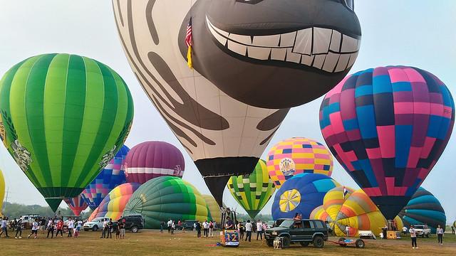 Blogger Lubao 2016 Hot Air Ballon Festival Pampanga Philippines Summer Duane Bacon