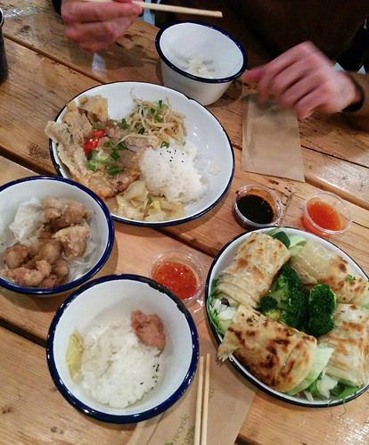 Dinner at Ho-ja in Shepherd's Bush last weekend.