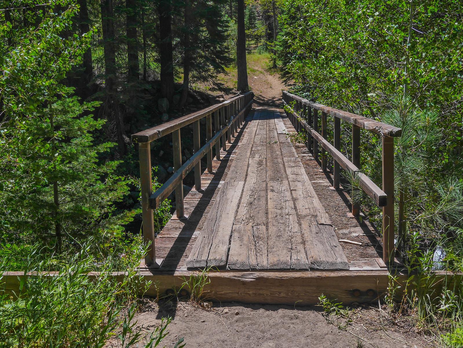Bridg across Fish Creek