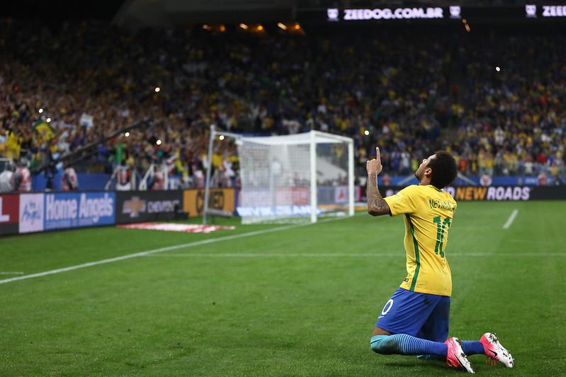 Brasil x Paraguai na Arena Corinthians