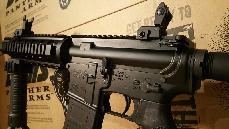 DPMS Quad Rail Flip Up Sights