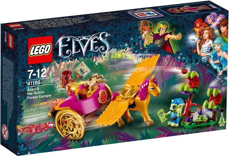 LEGO Elves Estate 2017 - Azari & the Goblin Forest Escape (41186)