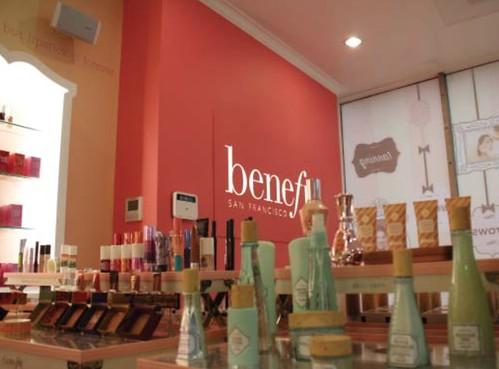 Benefit Cosmetics Boston