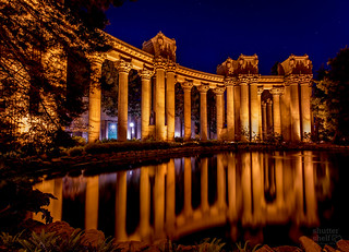 Night reflections at the Palace | by gsmaga