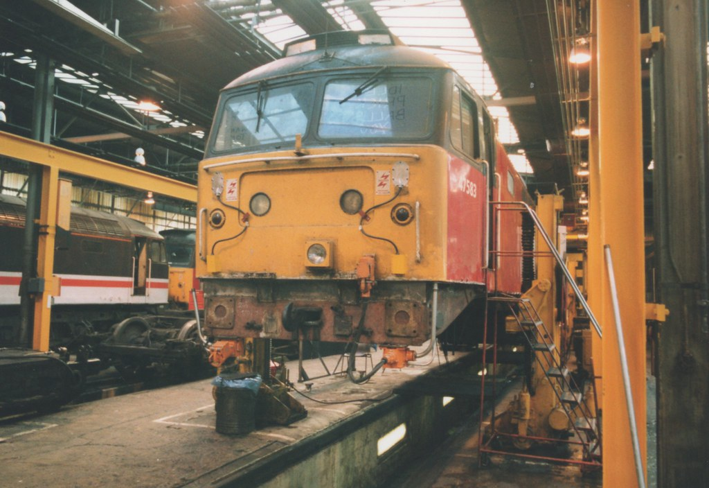 ... 47734 Res Class 47/4, 47583 Under Conversion to Class 47/7, 47734