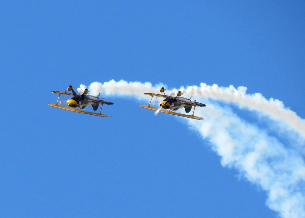 Biggin Hill Festival Of Flight >> Trig Aerobatic Team At Biggin Hill Festival Of Flight Flickr