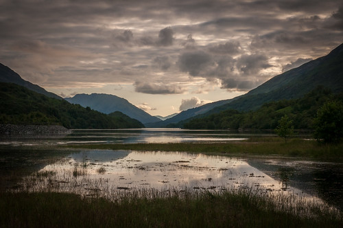 Evening light at Kinlochleven, Scotland | by jvanattenhoven