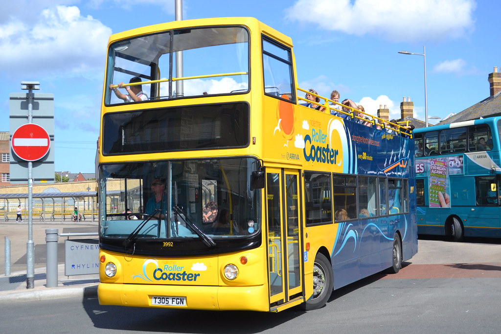 ... Arriva Wales 3992 T305FGN | by Will Swain