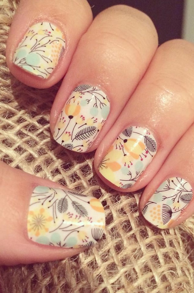 Sweet Whimsy Jamberry Nail Wraps | Beverly Kimball | Flickr