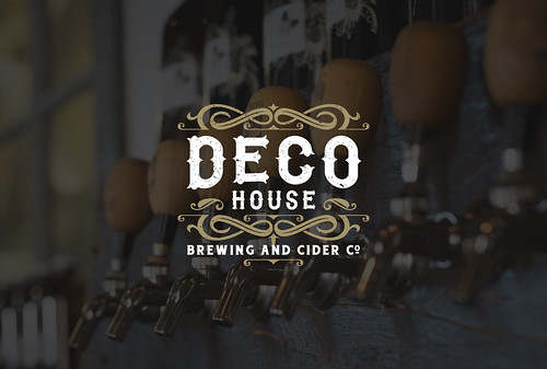 Deco House Brewing and Cider Co. | by SantiagoDesign.com