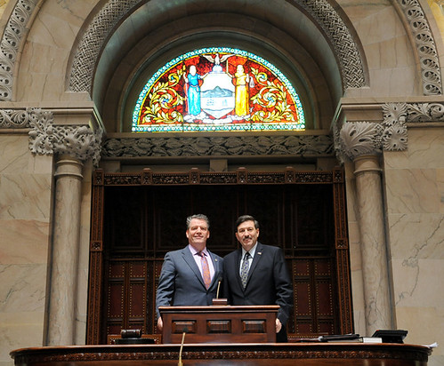 Visit with Senator Murphy in Albany