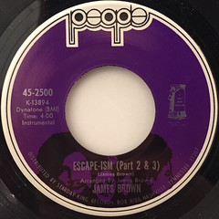 JAMES BROWN:ESCAPE-ISM(LABEL SIDE-B)