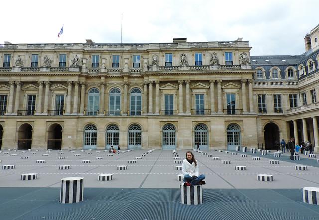 Paris Photo Essay: Park of Le Palais Royal, Paris, France