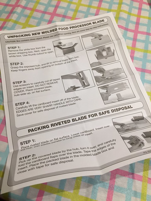 Unpacking/Packing instructions