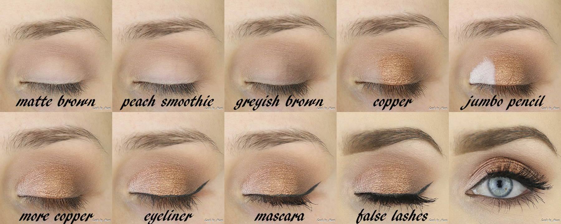 4 warm copper party eye makeup ideas tutorial how to do a party eye makeup tutorial