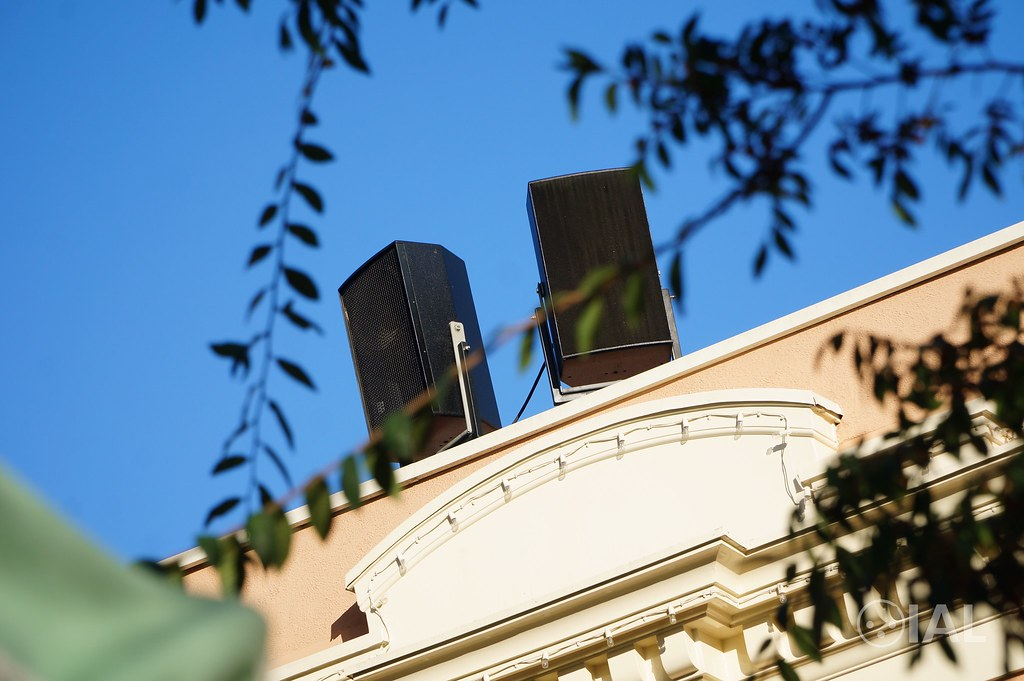 Inside Fantasmic!'s old audio system at the Disneyland Resort