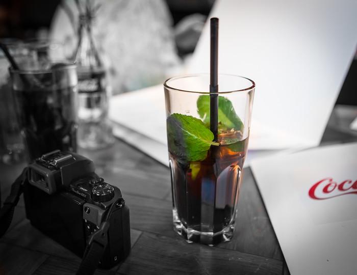 coca-cola juomasekoitus minttu lime ohje resepti kesäinen juoma janojuoma