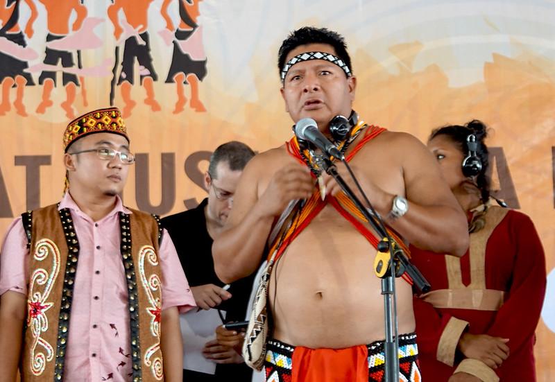 Masyarakat Adat dari Mesoamerika di Peluncuran DGM-I