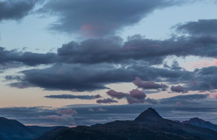 Norja vuoristo vuoret Pohjois-Norja Norway Norge fjäll vuonot roadtrip