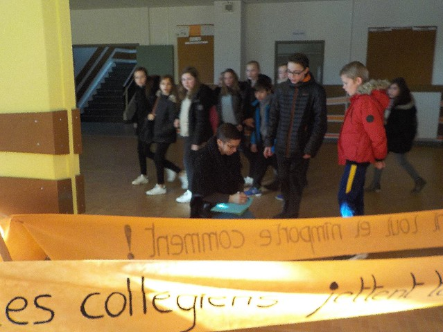 Le collège de la Côte Roannaise a constitué un éco-parlement des jeunes