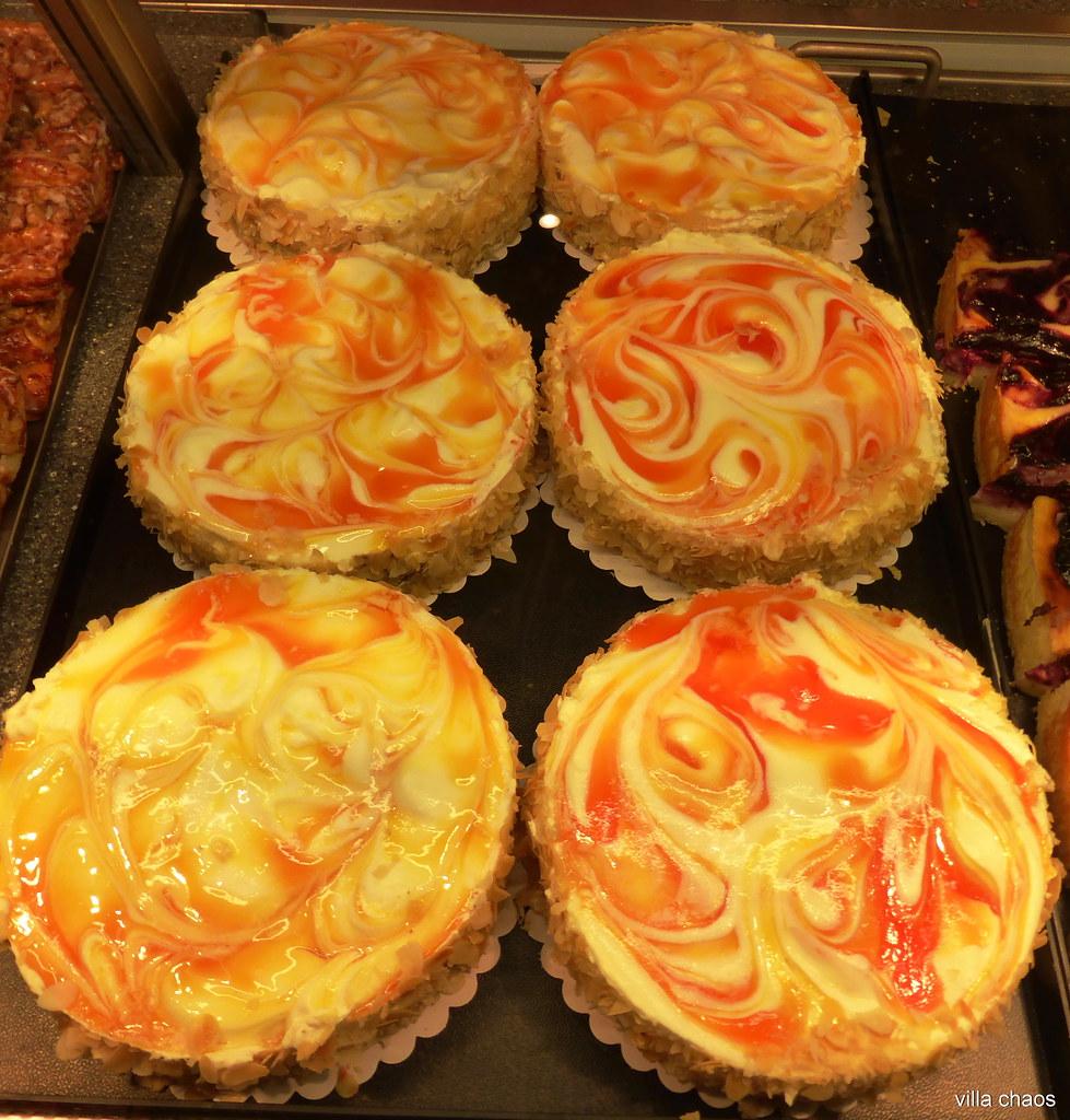Mandarinen Quark Kuchen Neulich Beim Backer Flickr