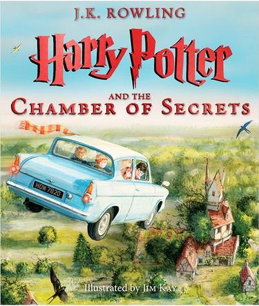 Harry Potter và Phòng Chứa Bí Mật (Bản minh họa) - J.K.Rowling, Jim Kay